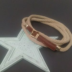 Michael Kors Rope Belt